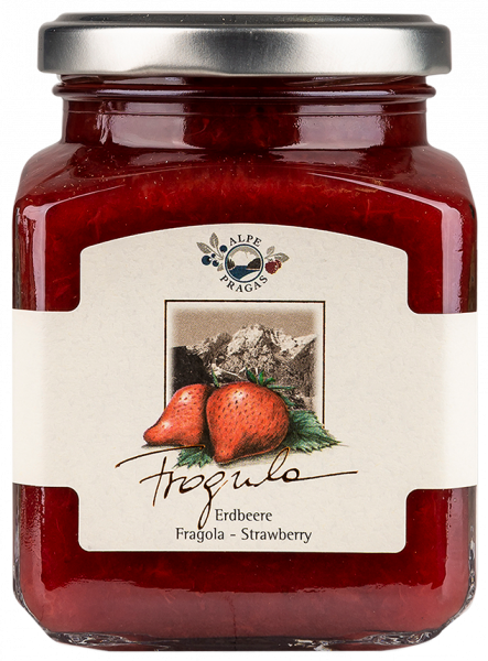 Erdbeere Fruchtaufstich