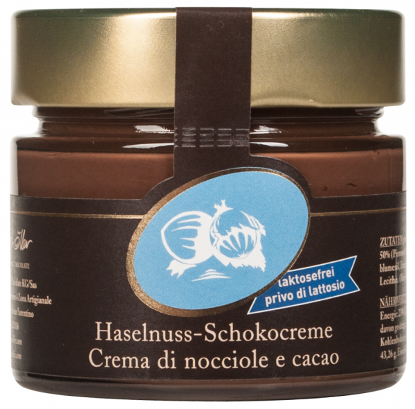 Haselnuss - Schokocreme laktosefrei