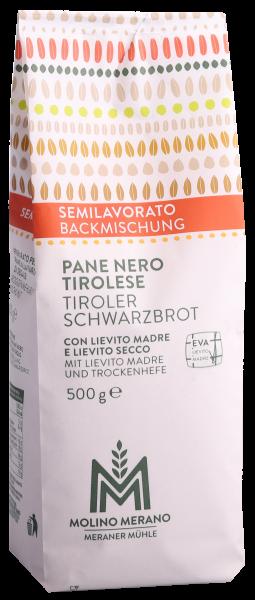 Backmischung Tiroler Schwarzbrot