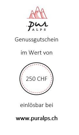 Online-Gutschein 250 CHF