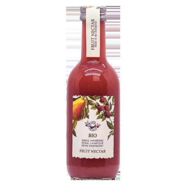 Fruchtnektar Birne - Himbeere Bio
