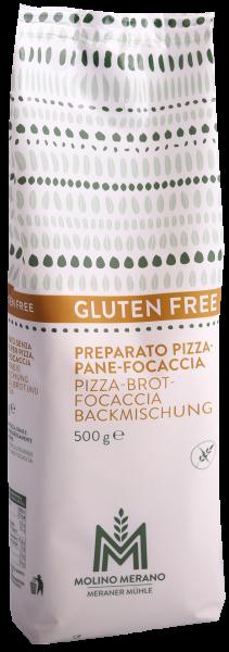 Backmischung Pizza-Brot-Focaccia glutenfrei