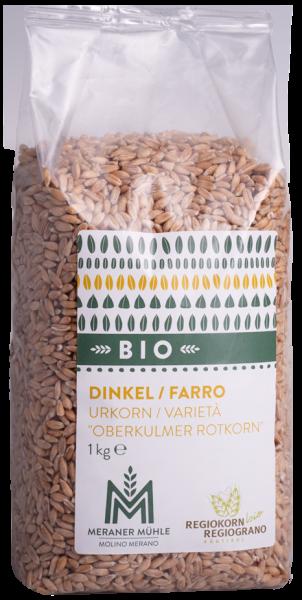 Dinkelkorn Regiokorn Bio