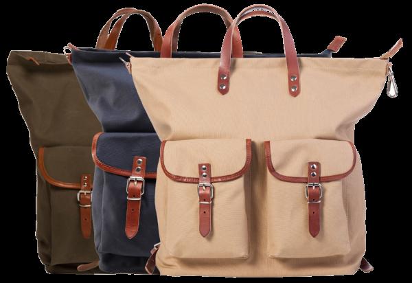 Rucksack / Tasche beige