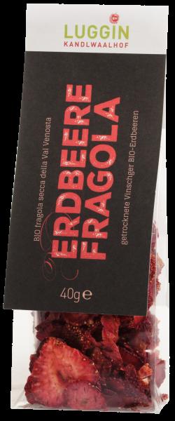 Getrocknete Vinschger Erdbeeren Bio