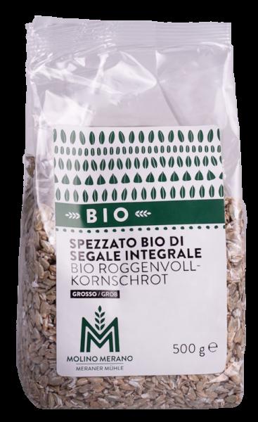 Roggenvollkornschrot grob Bio