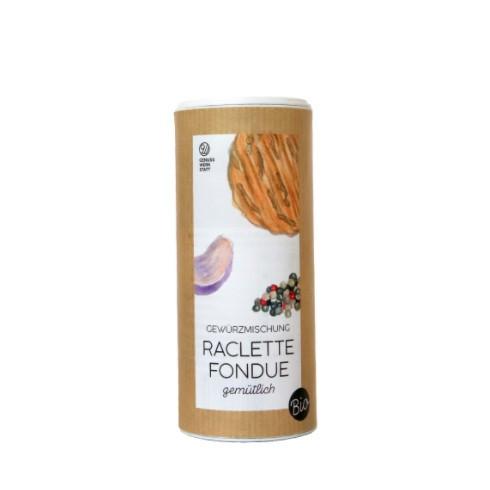 Raclette/Fondue Gwürz in Streudose Bio