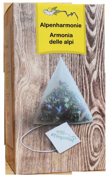 Kräutertee Alpenharmonie Pyramidenbeutel Bio