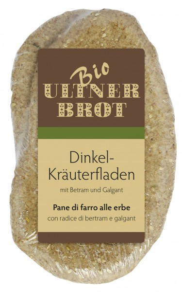Dinkel Kräuterfladen Bio