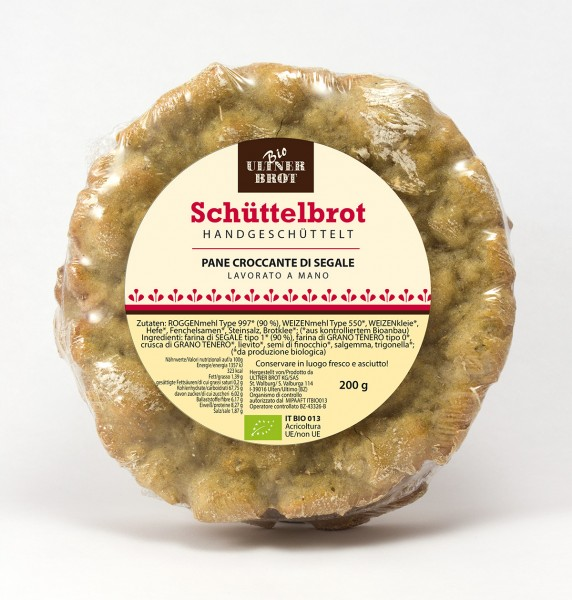 Schüttelbrot Bio