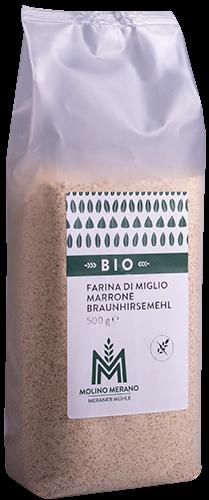 Braunhirsemehl glutenfrei Bio
