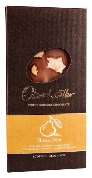 Vollmilchschokolade mit Birne