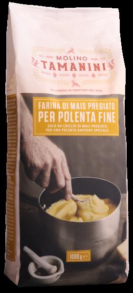 Maisgrieß gelb fein für Polenta