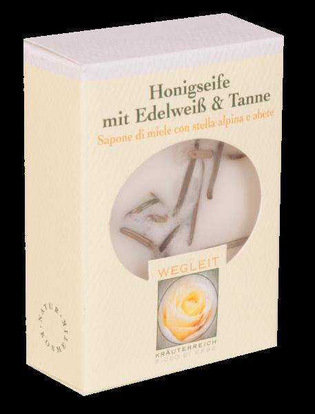 Honigseife mit Edelweiß und Tanne
