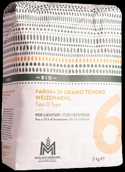 Weizenmehl Nr. 6 Type 0 Bio