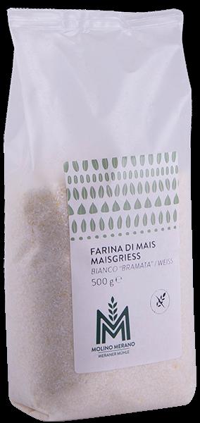 Maisgrieß weiß glutenfrei