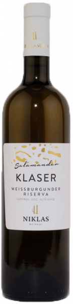 "Weißburgunder Riserva ""Klaser Salamander"" 2018"