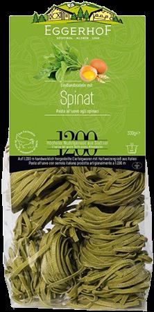 Spinat Bandnudeln