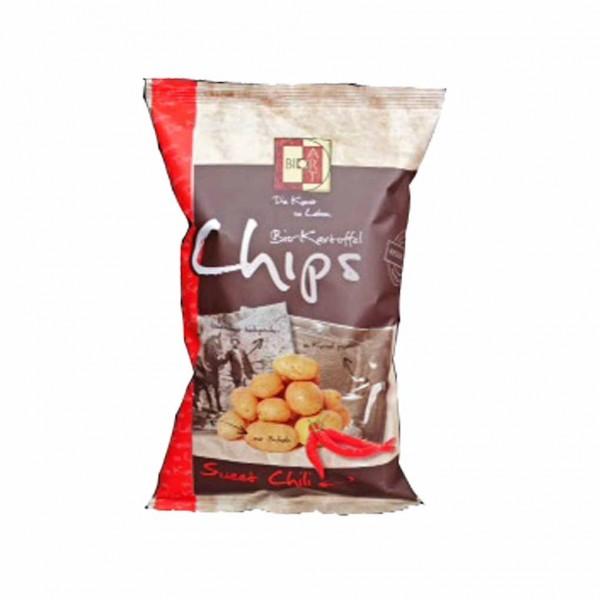 Bioart Kartoffelchips Bio sweet chili 120g