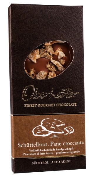 Vollmilchschokolade mit Schüttelbrot