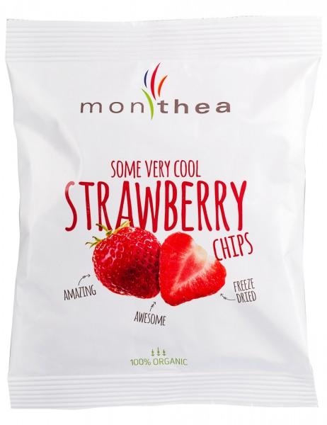 Erdbeeren gefriergetrocknet Bio