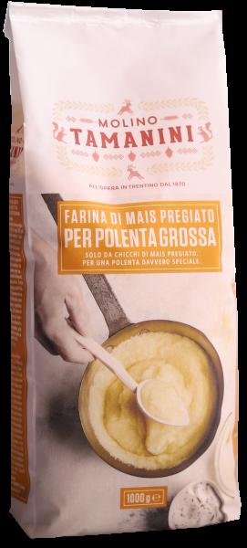 Maisgrieß gelb grob für Polenta