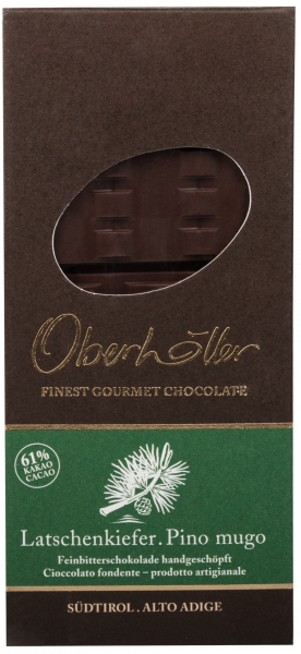 Feinbitterschokolade Latschenkiefer