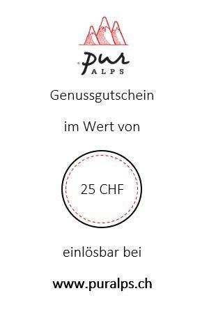 Online-Gutschein 25 CHF