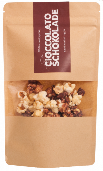 Popcorn mit Schokolade Bio