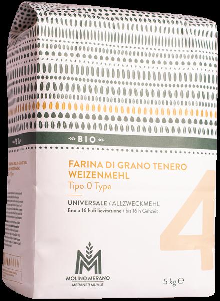 Weizenmehl Nr. 4 Type 0 Bio