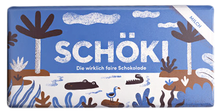 Schweizer BIO Milchschokolade