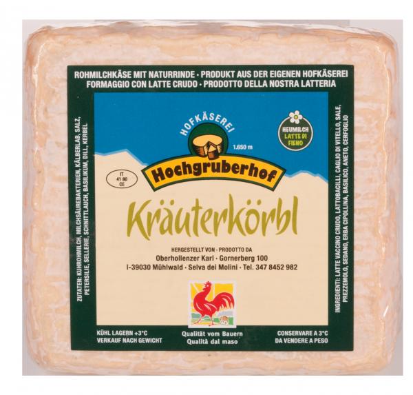 """Weichkäse """"Kräuterkörbl"""""""