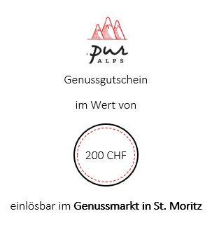 Bistro/Store-Gutschein 200 CHF