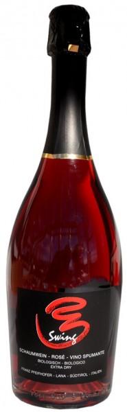 "Sekt Extra Dry Rosé ""Swing"" 2016 - Weingut Zollweghof 2019"