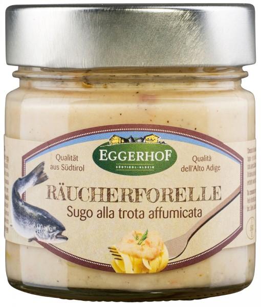 Sauce mit Räucherforelle