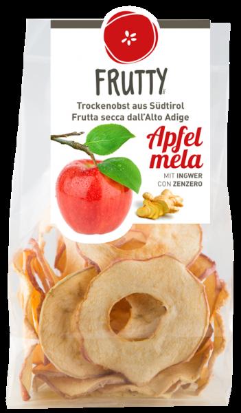 Getrocknete Äpfel Ingwer