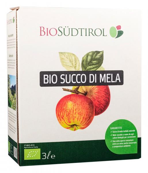Apfelsaft Naturtrüb Bag in Box Bio