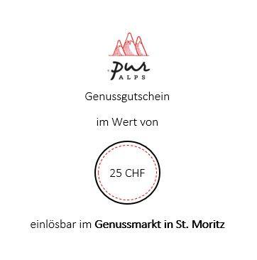 Bistro/Store-Gutschein 25 CHF