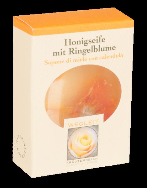 Honigseife mit Ringelblume