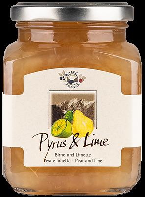 Fruchtaufstrich Williamsbirne & Limette