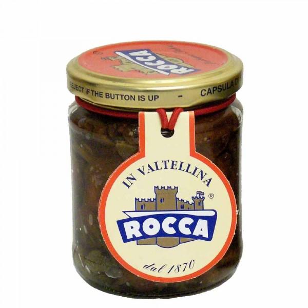 Rocca getrocknete Tomaten unter Olivenöl 212g