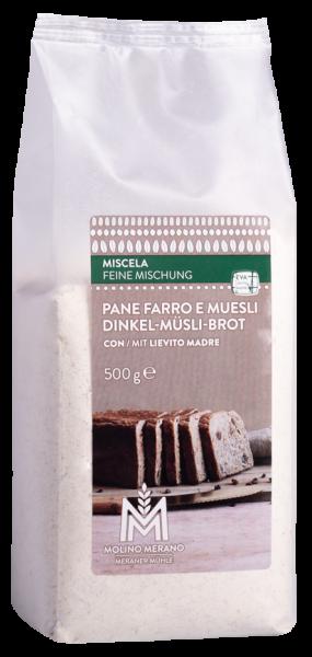 Mischung für Dinkel-Müsli Brot