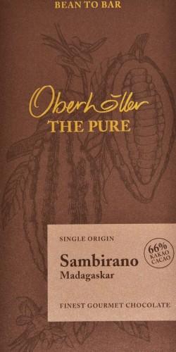 """Gourmetschokolade """"Sambirano"""" 66%"""