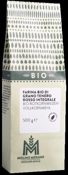 Rotkornweizen-Vollkornmehl Bio
