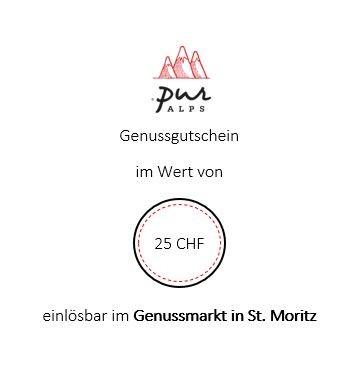 Store-Gutschein 25 CHF