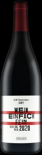 """Pinot Noir """"Wein einfach fein"""" 2020"""