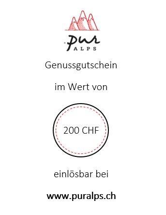 Online-Gutschein 200 CHF