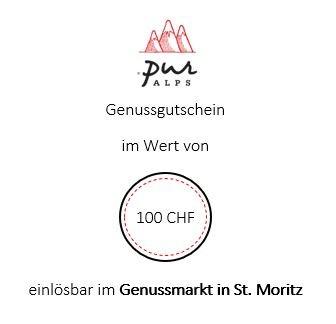 Bistro/Store-Gutschein 100 CHF